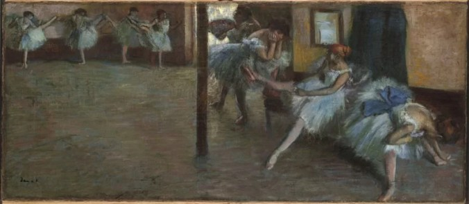 Edgar Degas Art - Ballerinas