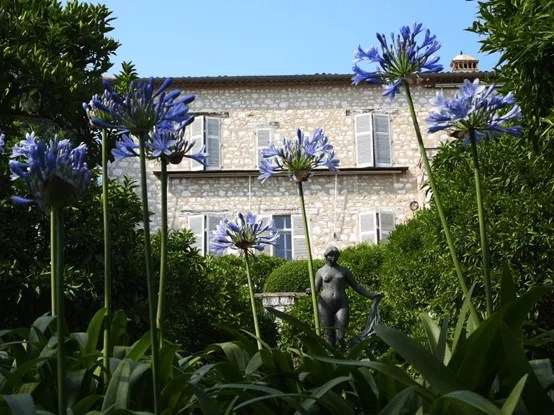 Renoir's house in Cagnes-sur-Mer - today a museum
