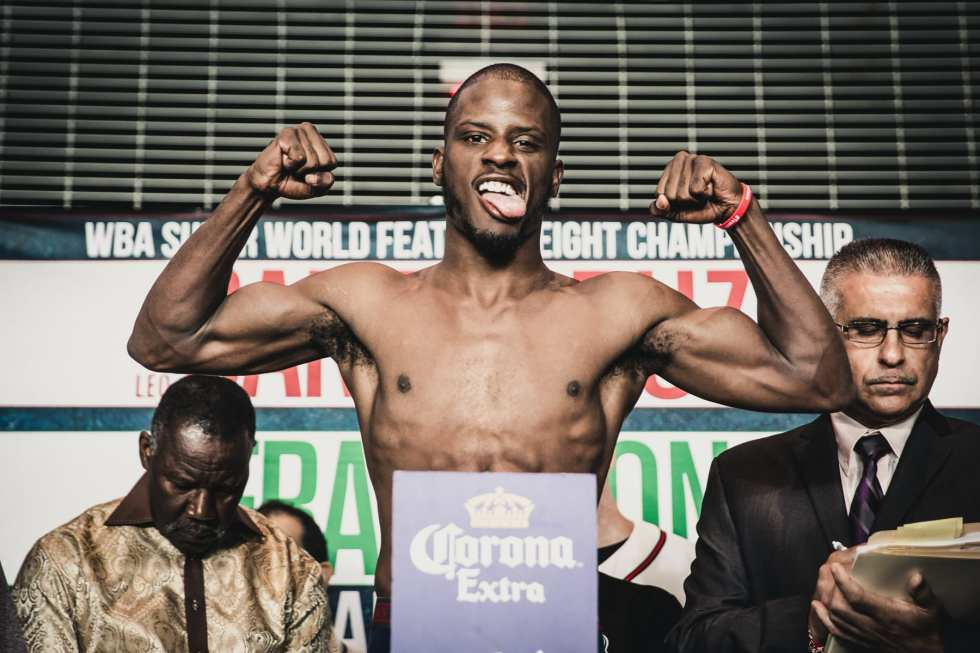 Image result for tony harrison boxer weigh in