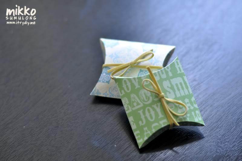 I Try DIY | Itu0027s A Wrap DIY Pillow Boxes & Itu0027s A Wrap: DIY Pillow Boxes | I Try DIY Aboutintivar.Com