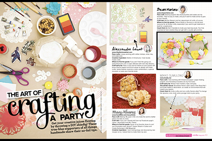 I Try DIY | Candy Magazine: Tips on Throwing a Crafty Party!