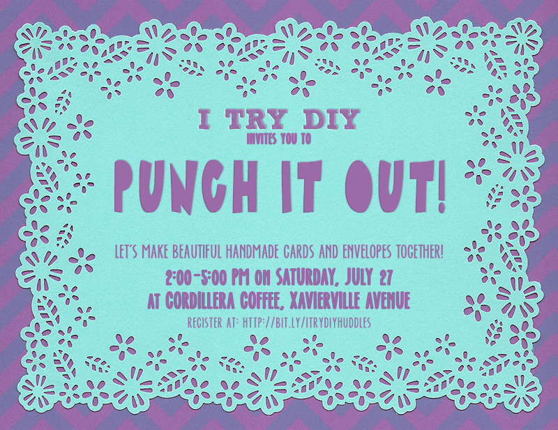 I Try DIY | Let's Punch it Out!