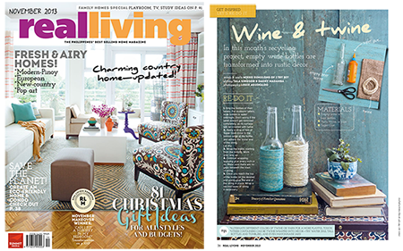 I Try DIY | I Try DIY writes for Real Living November 2013