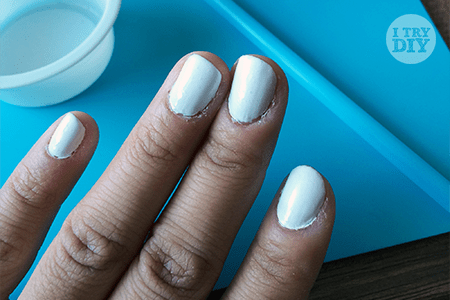 I Try DIY   Tricks for Tips: Neon Pollock Nails