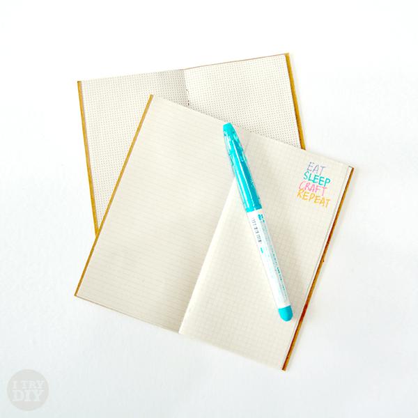 I Try DIY | DIY Notebooks