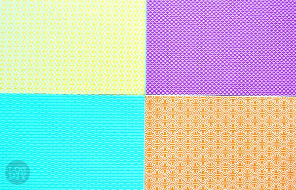 I Try DIY | Honeycomb Pattern Notebooks