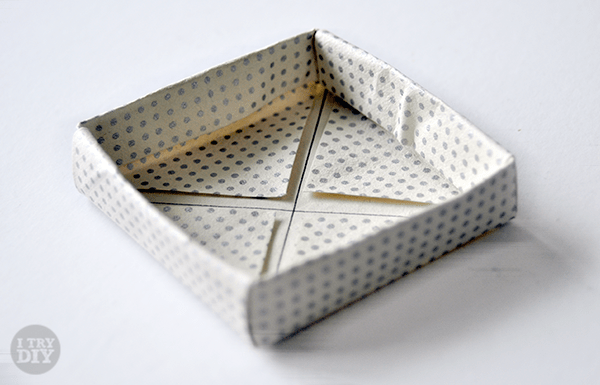 I Try DIY   It's A Wrap: Origami Boxes