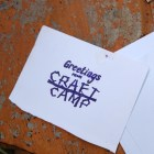 Welcome to Craft Camp!