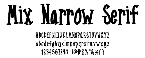 I Try DIY | Font Fix: Mix Narrow Serif