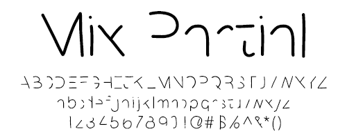 I Try DIY   Font Fix: Mix Partial