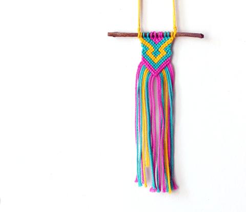 Handwoven Twig Necklace