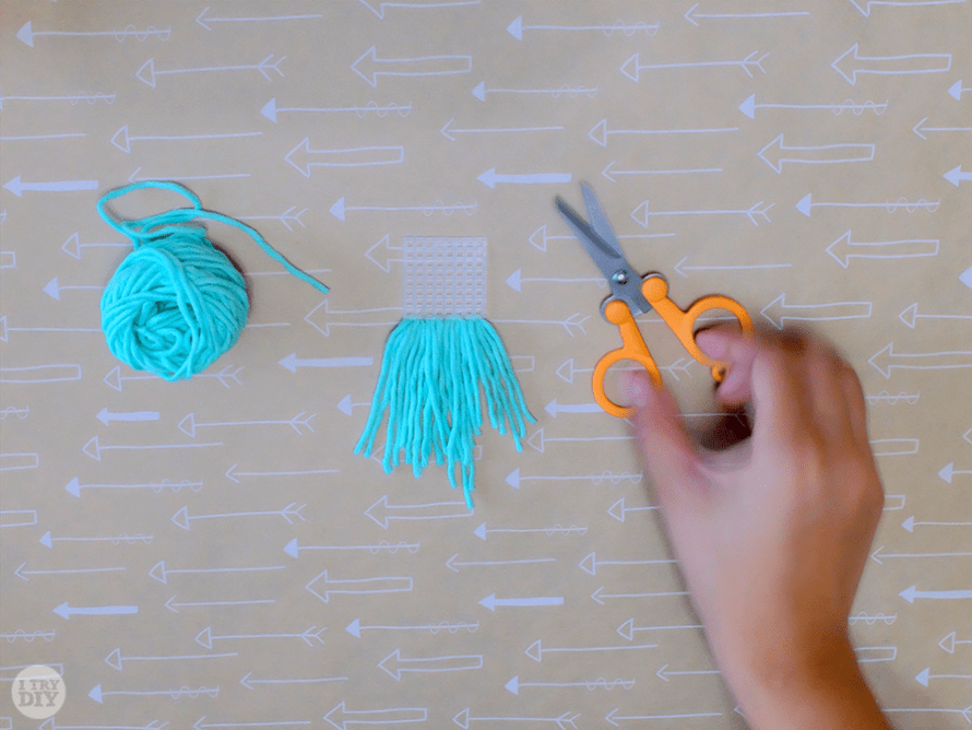 I Try DIY | Micro Weave Necklace