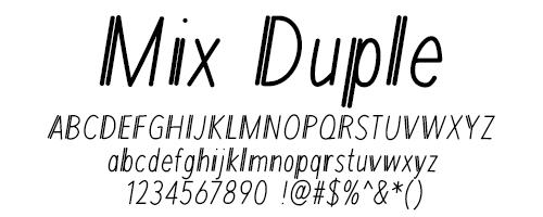 I Try DIY | Font Fix: Mix Duple