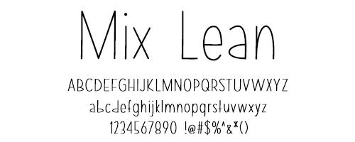 I Try DIY | Font Fix: Mix Lean