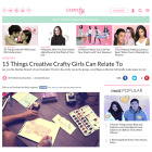 CandyMag.com: 15 Things Creative Crafty Girls Can Relate To