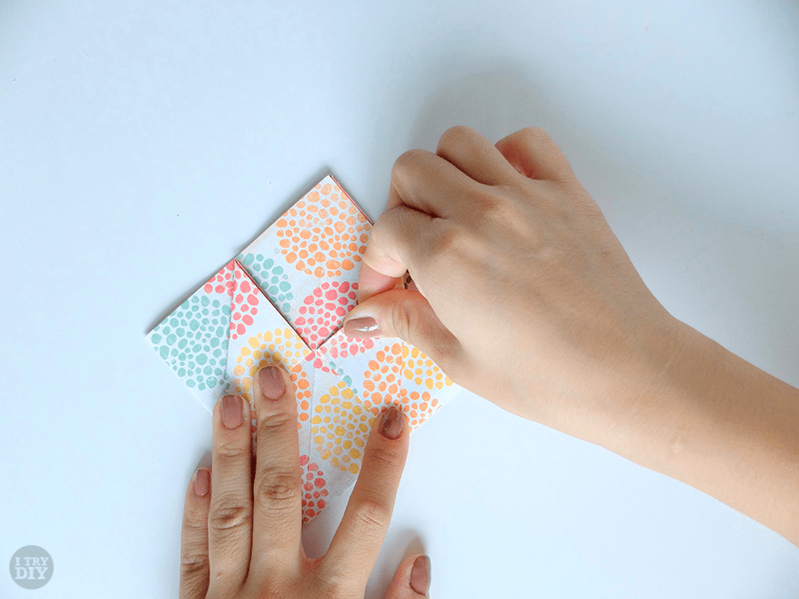 I Try DIY | Origami Chinese Takeout Box