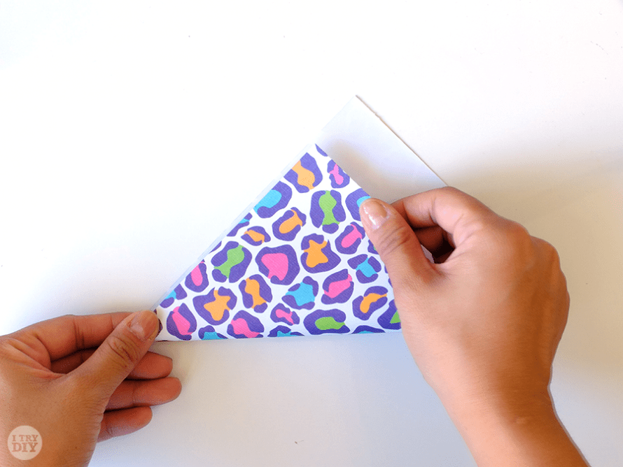 I Try DIY | How to Fold a Letter into a Triangle