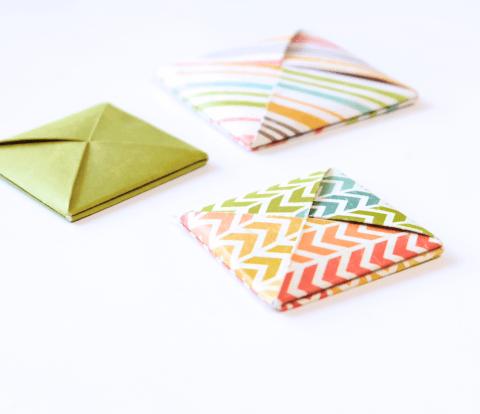 Origami Square Envelope
