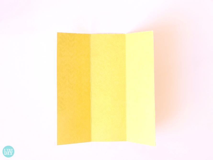 I Try DIY | Origami Square Envelope