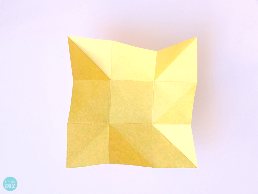 How To Make Origami Pinwheel Envelopes
