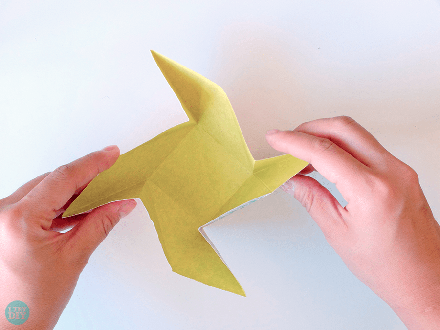 I Try DIY   Origami Square Envelope