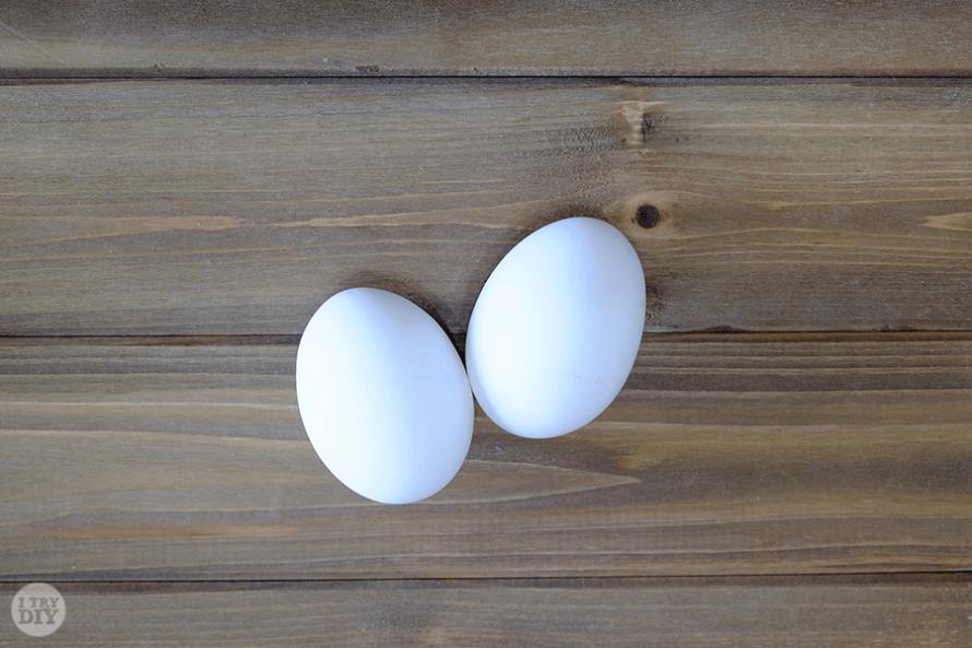 I Try DIY   Speckled Easter Eggs