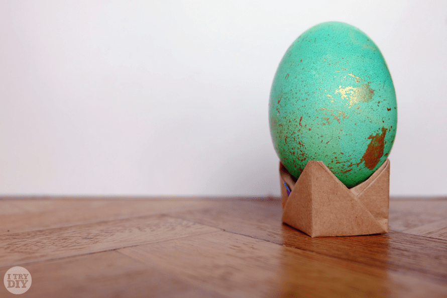 I Try DIY | Speckled Easter Eggs