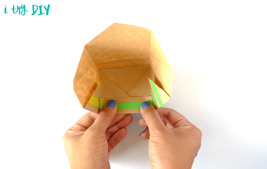 I Try DIY | Mini Origami Shopping Bag