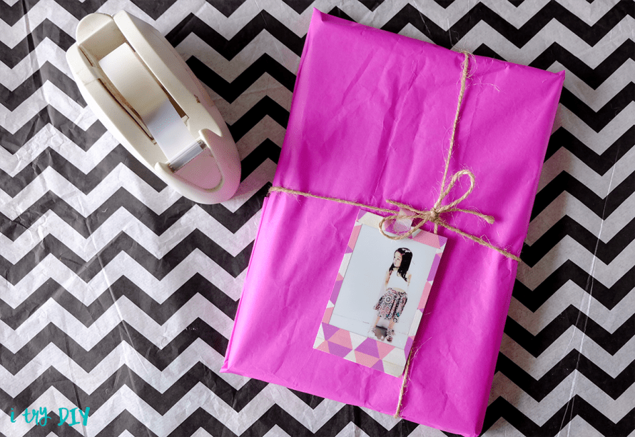 I Try DIY | Instax Gift Tags