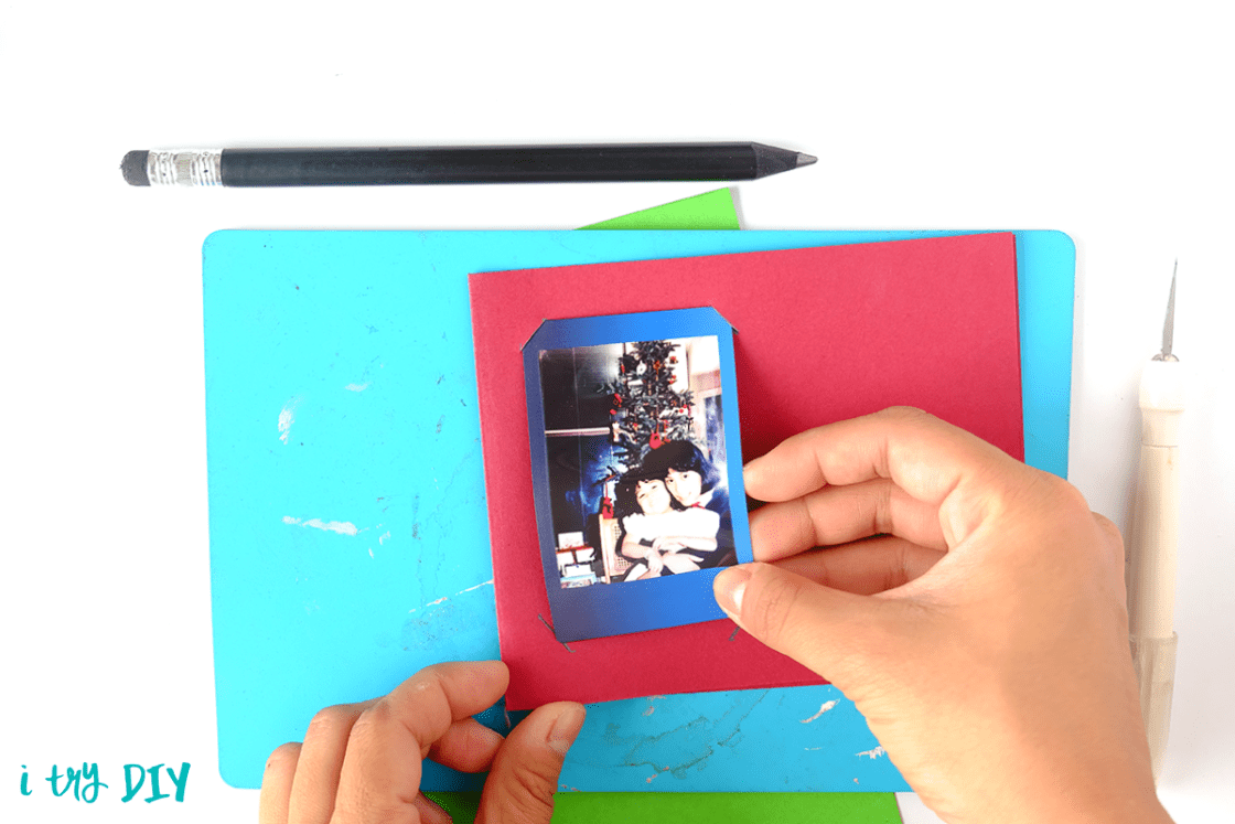 I Try DIY   Instax Belted Gift Tag