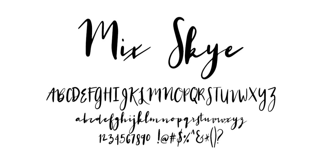 I Try DIY | Font Fix: Mix Skye
