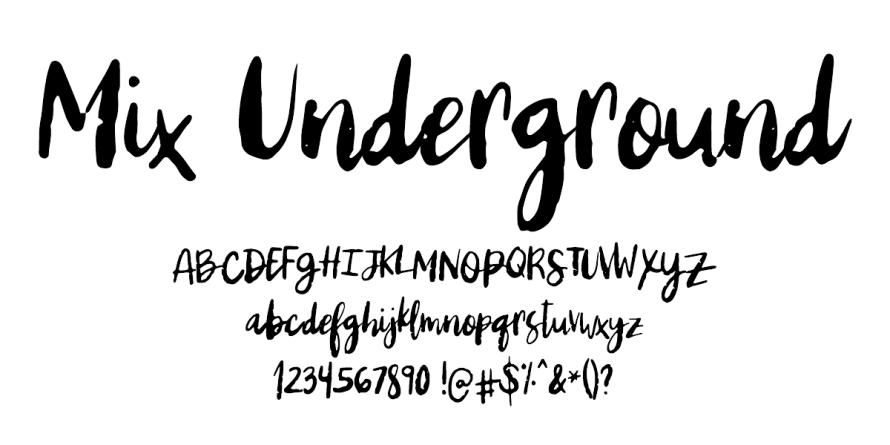 I Try DIY | Font Fix: Mix Underground