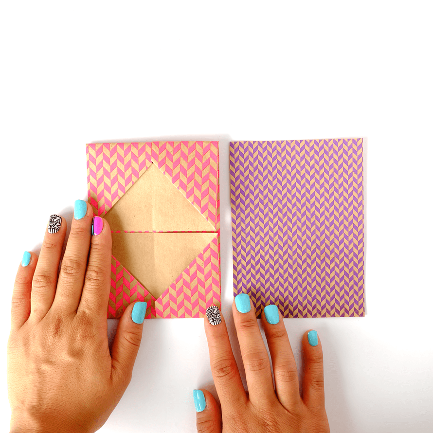 I Try DIY | Origami Business Card Holder