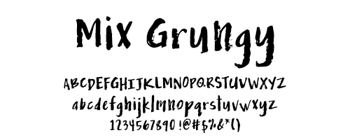 I Try DIY | Font Fix: Mix Grungy