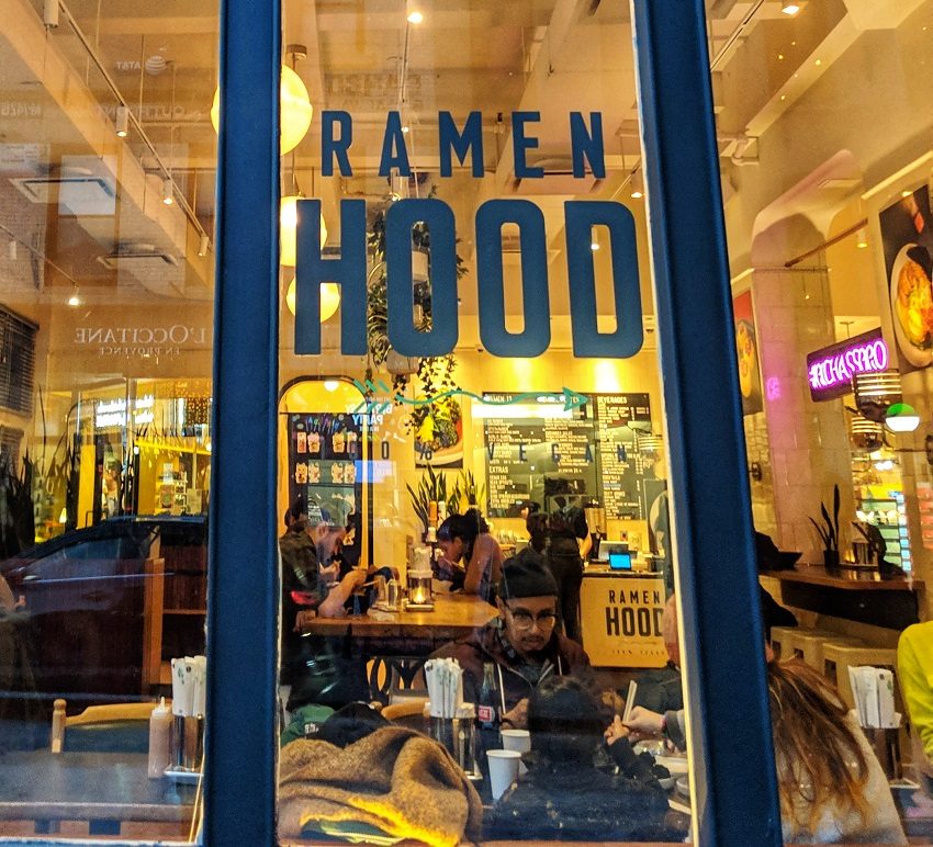 New York vegan - Ramen Hood