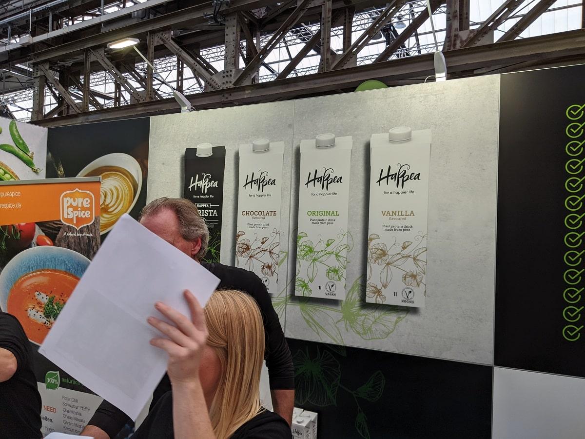 Veggie World Düsseldorf 2019 - Happea
