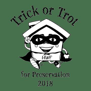 HWF Trick or Trot for Preservation