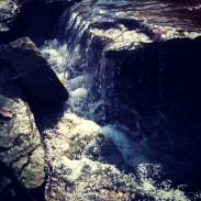 Mini waterfalls are the best