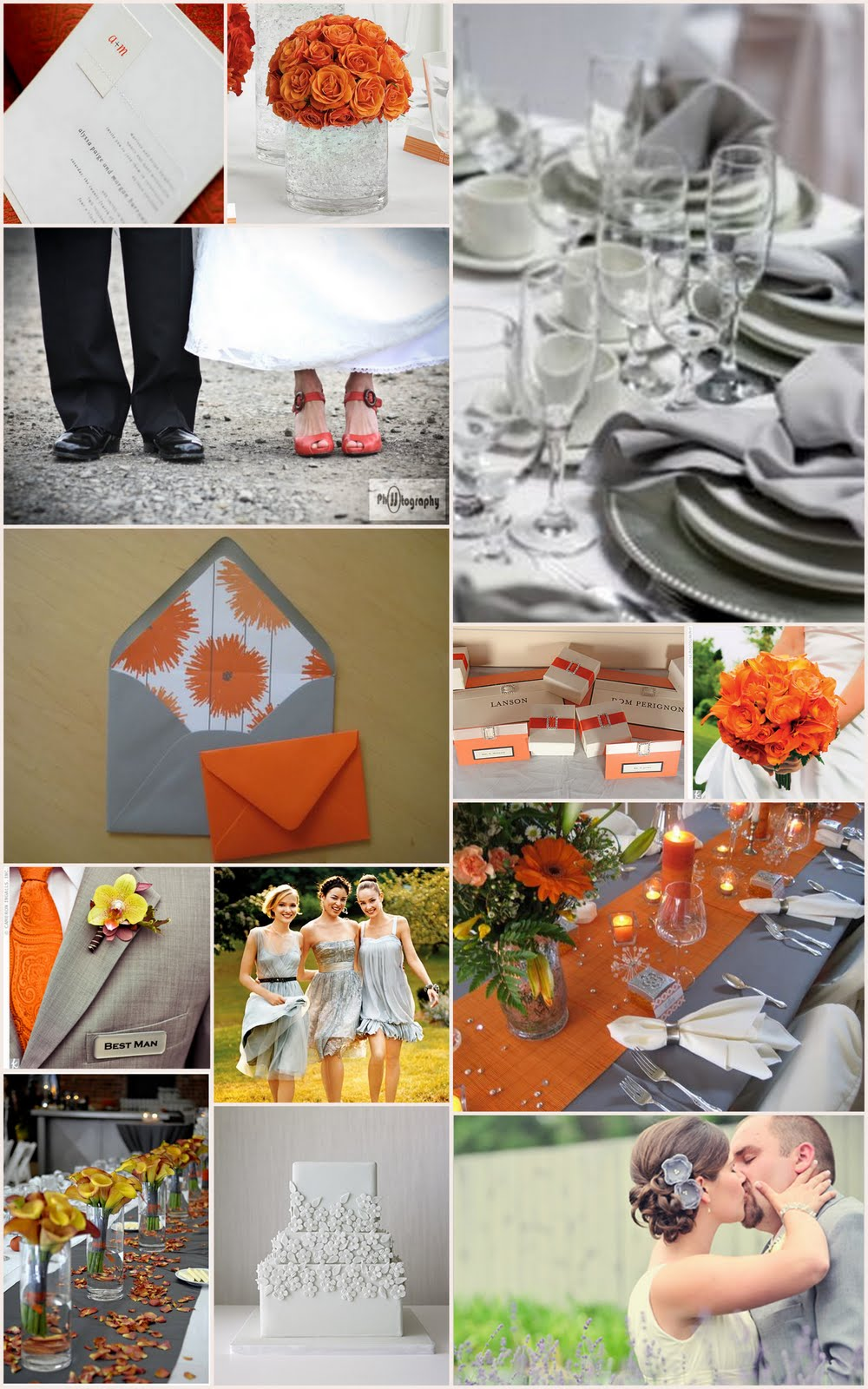 1000 images about Grey and orange palette on Pinterest  Orange Orange weddings and Grey