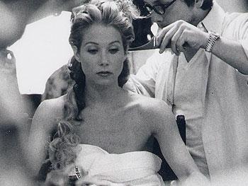 Celebrity inspired wedding hairstyle