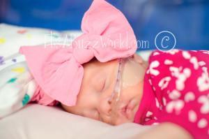 Olivia sleeping 5-8-15