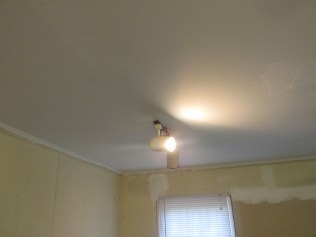 New, painted ceiling!