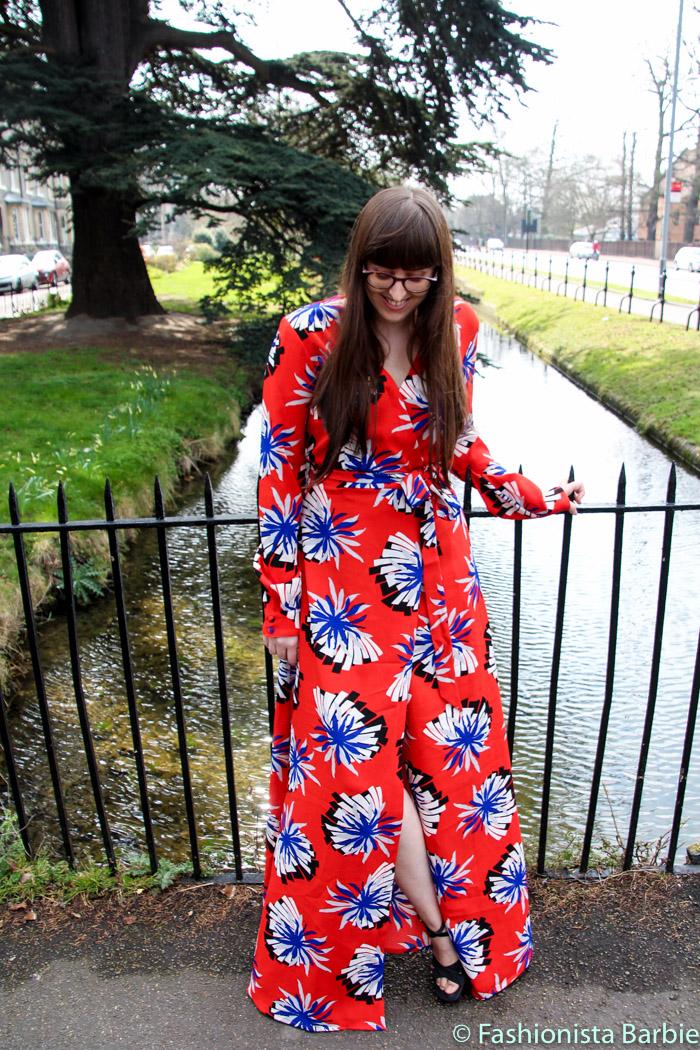 Long Tall Sally, TTYA x Long Tall Sally, Tall, Statement Print Maxi Dress, Origami Flower Print, Wrap Dress, Maxi Dress, Summer, Date night, Top UK Fashion Blogger, Style Blogger, Fashion Blogger, Outfit, Style Post, Cambridge
