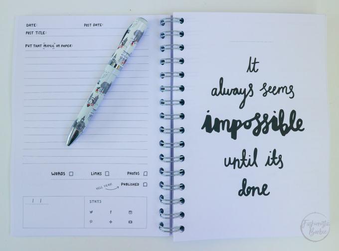 hello day planner, planner, diary, organiser, kikki.k, typo