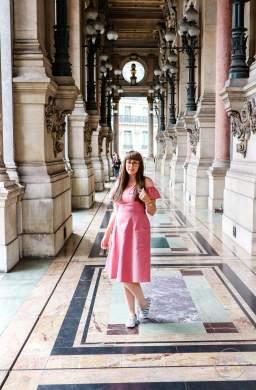 Palais Garner, Opéra Garnier, Paris, France, Travel, Style Post, Fashionista Barbie, Asos, Keds, Girl in Glasses, Pink Dress, Fashion Blogger, Style Blogger