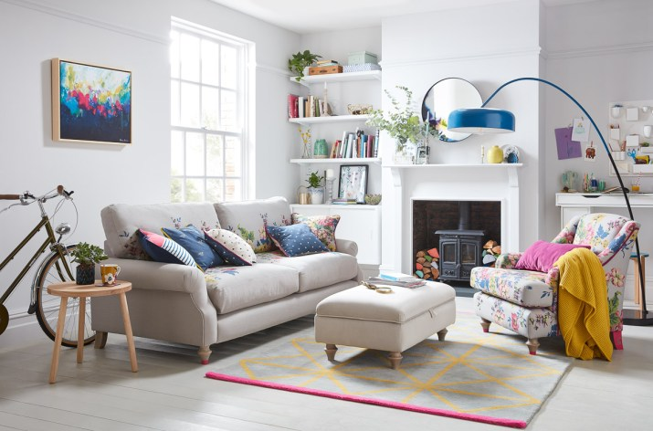 Joules x DFS, DFS,Joules, DFS x Joules, Interiors, Furniture, Sofa, Armchair, Chair, Interior Design, UK Lifestyle blogger, Lifestyle Blogger