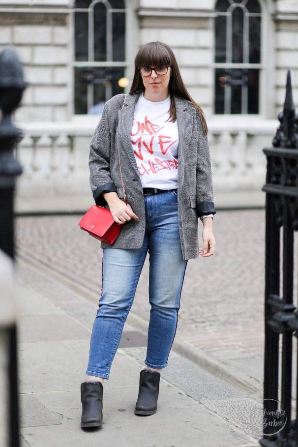 Blazer, Primark, London Street Style, London Fashion Week, LFW, Street Style, One Love Manchester, Style Blogger, UK Fashion Blogger