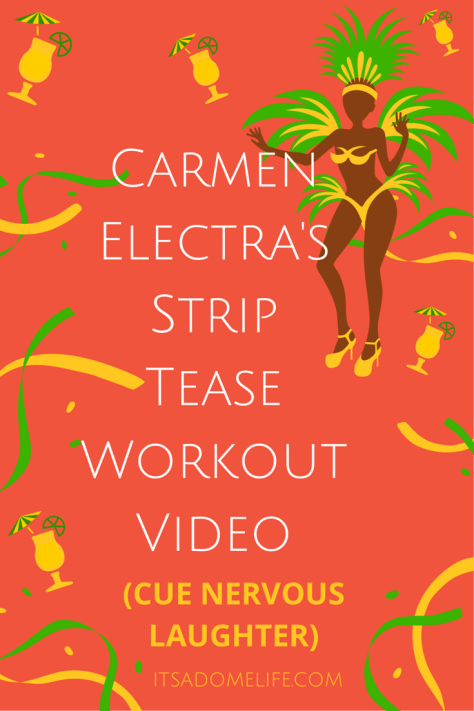 Carmen Electra's Striptease Workout Video