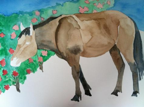 bad horse painting 1