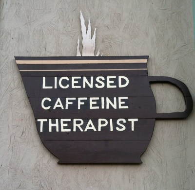 sign about caffeine